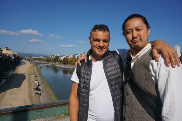 ステーファノと鴨川